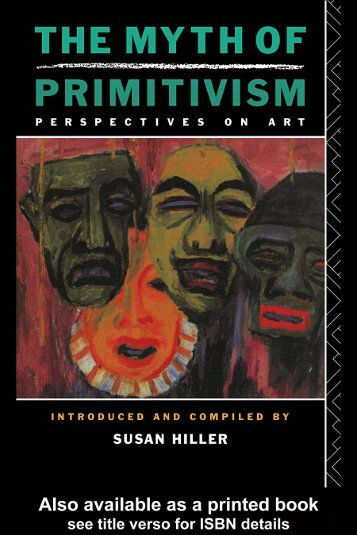 Hiller - The Myth of Primitivism. Perspectives on Art - Esoteric Online