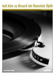 kult.kino zu Besuch bei Ramstein Optik