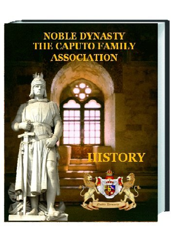 Download Booklet - NOBLE DYNASTY THE CAPUTO FAMILY ...
