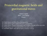 Primordial magnetic fields and gravitational waves