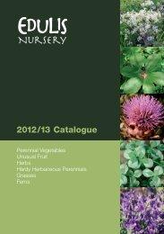 2012/13 Catalogue - Edulis Nursery