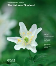 The Nature of Scotland - Scottish Natural Heritage