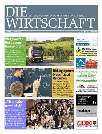 Die Wirtschaft Nr. 24 vom 17. Juni 2011
