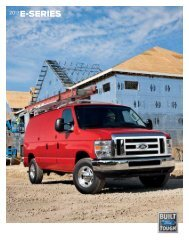 2013 Ford Econoline Wagon Brochure - ClickMotive