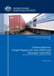 Collision Between Freight Wagons (for train 4MP5) and Passenger ...
