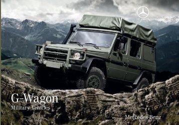 G-Wagon Military Vehicles Download Brochure - Mercedes-Benz ...