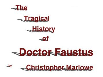 irony in doctor faustus Explanation of the famous quotes in doctor faustus, including all important speeches, comments, quotations, and monologues.
