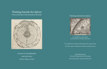 Thinking Outside the Sphere - Linda Hall Library