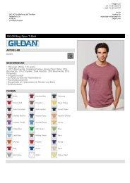 150.09 Ring Spun T-Shirt - IVO AG - Für Werbung auf Textilien