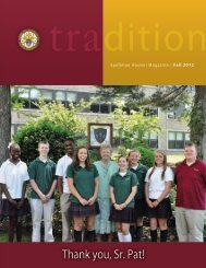 Fall 2012 - Cardinal Spellman High School