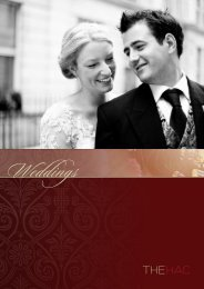 to download our wedding brochure - The Honourable Artillery ...