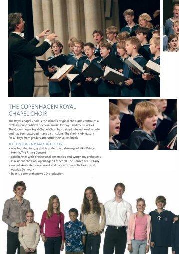 the copenhagen royal chapel choir the cop girls' c - Sankt Annæ ...