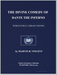 the divine comedy of dante the inferno - World eBook Library