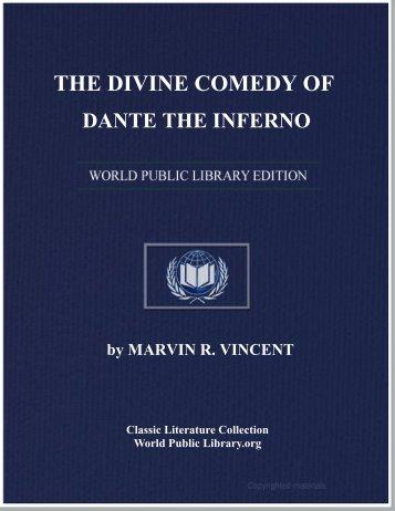 the divine comedy of dante the inferno - World eBook Library