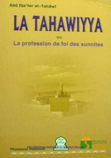 La-Tahawiyya-ou-la-profession-de-foi-sunnite-Sharh--Aq
