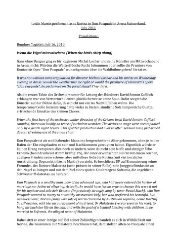 Review Translations - leslie martin - nightingale