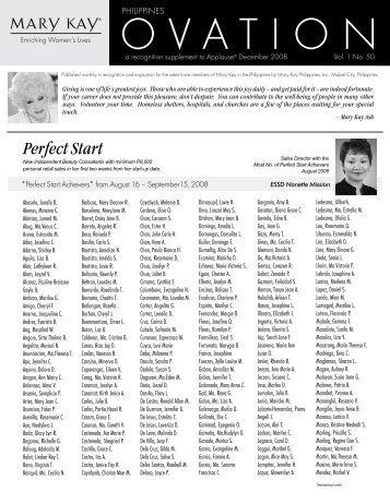 Perfect Start - Mary Kay