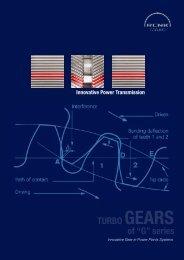 "of ""G"" series TURBO GEARS - RENK-MAAG GmbH"