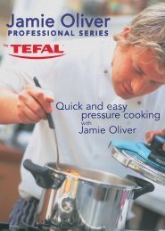 Quick and easy pressure cooking with Jamie Oliver - Tefal
