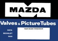 Maxda - Valves and Picture Tubes - Frank's electron Tube Data sheets
