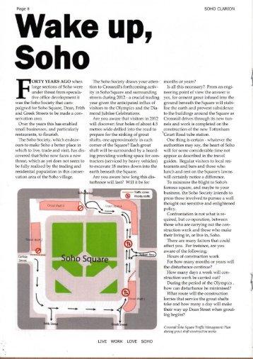 Soho - The Soho Society