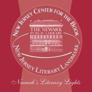 Newark's Literary Lights - Newark Public Library