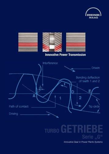 "Turbo-Getriebe der Serie ""G"" - RENK-MAAG GmbH"