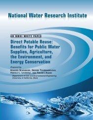 Direct Potable Reuse: Benefits for Public Water Supplies