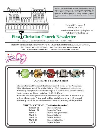 JulAugSep  Newsletter  Faith Christian Outreach Church