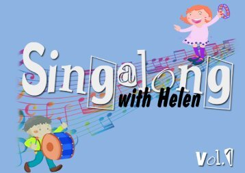 singalong volume 1 - Cadenza Classes