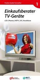 Einkaufsberater TV-Geräte 1 - Rast & Fischer AG