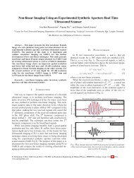 IFMBE Proceedings 34 - Non-linear Imaging sing an Experimental ...