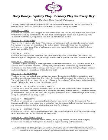 Ooey Gooey® Squishy Plop! Sensory Play for ... - Ooey Gooey, Inc.