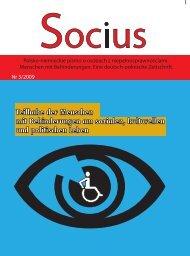 Teilhabe der Menschen mit Behinderungen am sozialen ... - wrzos