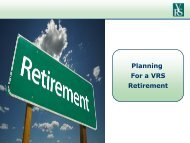 Planning For a VRS Retirement