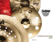 SABIAN Catalogue 2012.pdf - Musicworld.bg