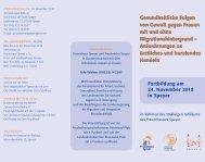 Gesundheitliche Folgen von Gewalt gegen  Frauen mit und - Speyer