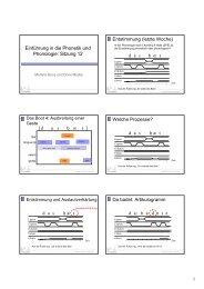 Einführung in die Phonetik und Phonologie: Sitzung 12 Entstimmung