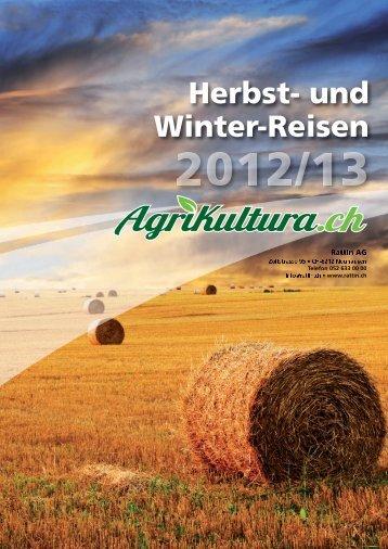 Herbst- und Winter-Reisen 2012/13 - Rattin AG
