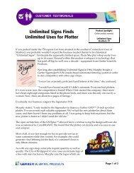 Incentives for Gerber EDGE FX™ & Plotters - Denco Sales
