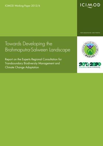 Towards Developing the Brahmaputra-Salween Landscape