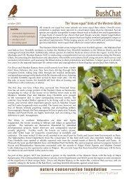 BushChat - Nature Conservation Foundation