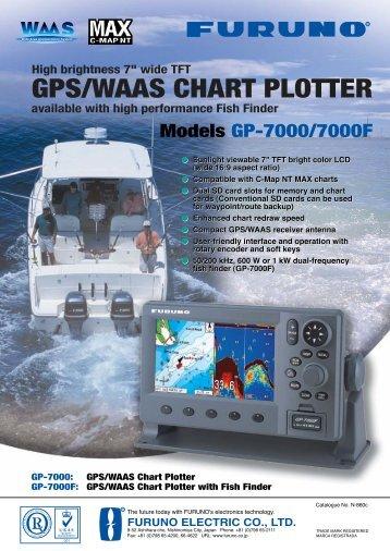 GPS/WAAS CHART PLOTTER - Creekside Supply
