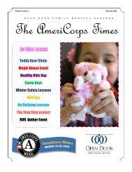 Volume 3, Issue 2 - Open Door Family Medical Centers