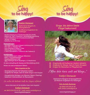 Sing Sing - Sing to be Happy