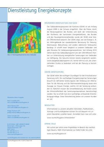 Raumlufthygiene-Info 1/2010 - Bau- und Umweltchemie AG