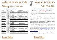 WfH Saltash Walks Prog Apr-Jun 2012 leaflet - Tamar Valley