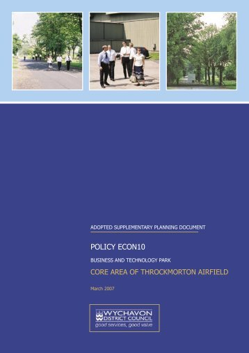 POLICY ECON10 - Wychavon District Council