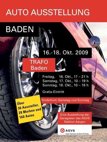 AUTO AUSSTELLUNG BADEN - Regionalwerke AG Baden