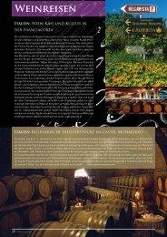 Weinreisen - Magazin Exclusiv